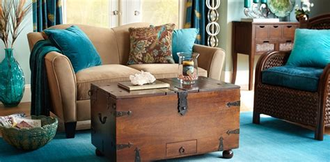 turquoise and brown living room decor peacock d 233 cor accessories design ideas 轢 pier 1 imports bedroom decor