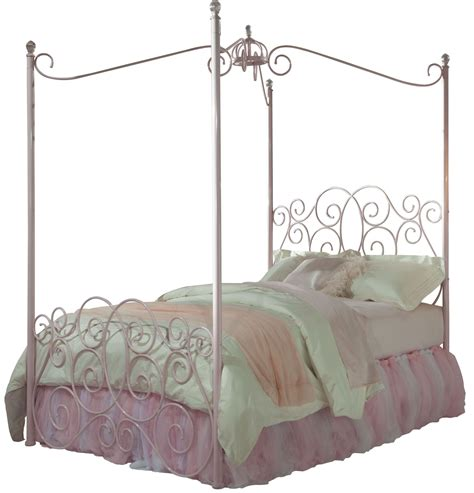 canopy bed full princess pink full metal canopy bed from standard furniture coleman furniture