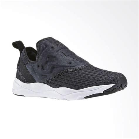 Harga Reebok Casual jual reebok furylite slip on casual shoes bd1583 sneakers
