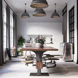 industrial dining room chairs industrial style dining room design the essential guide