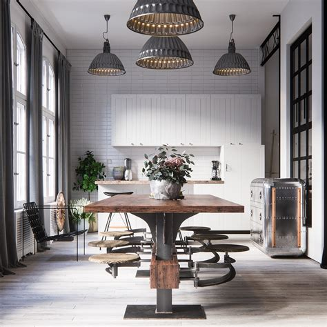 Industrial Stil by Industrial Style Dining Room Design The Essential Guide