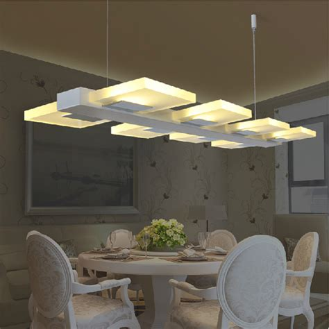 Aliexpress Com Buy Led Kitchen Lighting Fixtures Modern Dining Room Light Fixtures Modern
