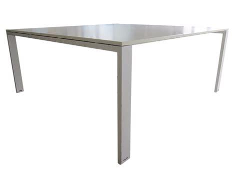 mobilier de bureau d occasion table de r 233 union blanche d occasion carr 233 e 168 x 168