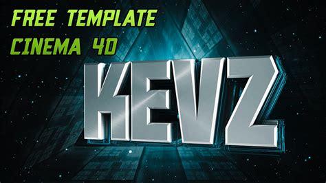 Free Text Template Cinema 4d 3 Youtube Cinema 4d Templates