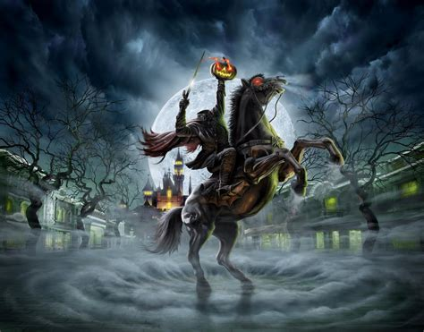 shocktoberfest 24 the headless horseman comic booked