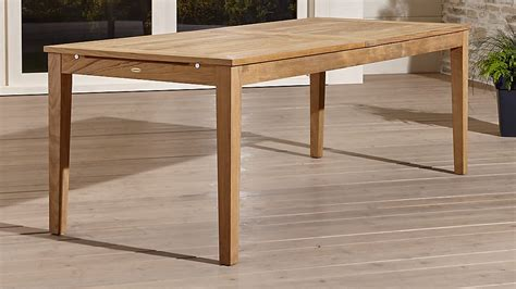 Regatta Extension Dining Table Crate And Barrel