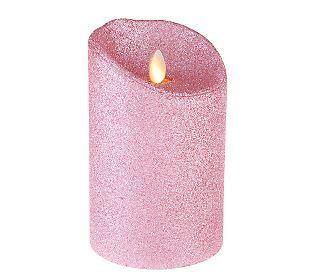 Alphabet Glitter Candle Pink H 67 best luminara candles images on