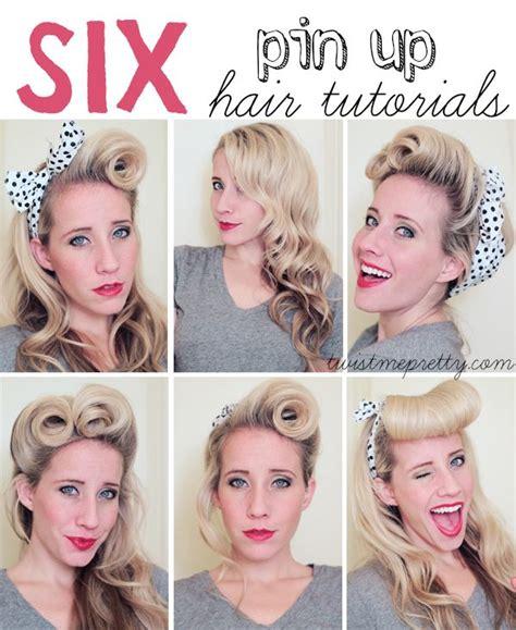 1950 hairstyles for long hair step by step pin up sa 231 modelleri bakımlı kadın