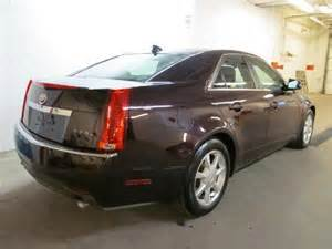 2009 Cadillac Cts Specs 2009 Cadillac Cts Dartmouth Scotia Used Car For