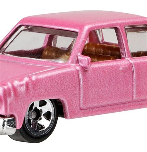 Wheels The Simpsons Homer Family Car Pink Sedan 2017 Hw Miniature simpsons family car finally gets wheels treatment the news wheel