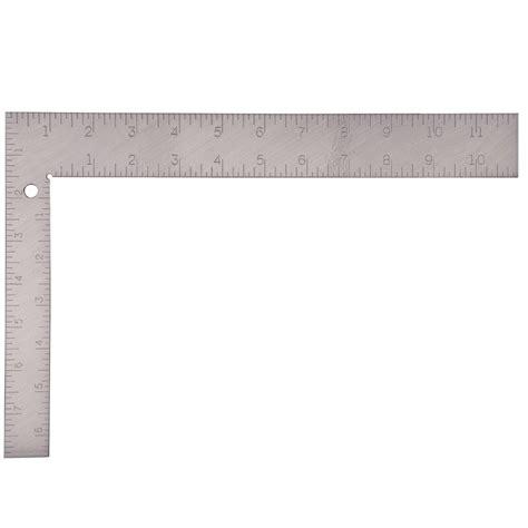 Of Steel 12 empire 8 in x 12 in steel carpenter square 100 the
