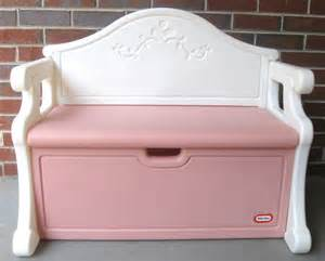 tikes bench chest tikes box bench book pink