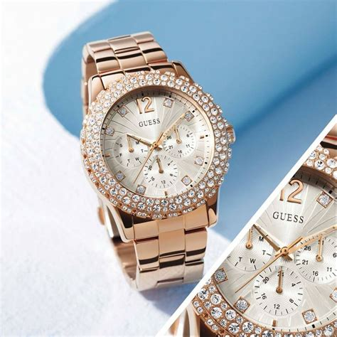 Guess W0041g2 Rosegold Combi 1 44 best guess watches images on guess watches appliances and gadgets
