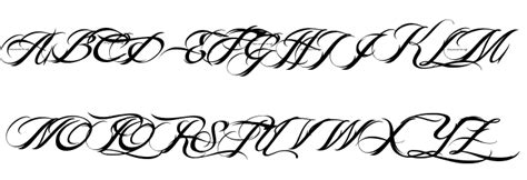 tattoo fonts billy argel billy argel font font