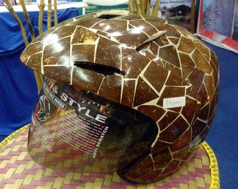 Jual Batok Kelapa Semarang helm dari batok kelapa bebeja