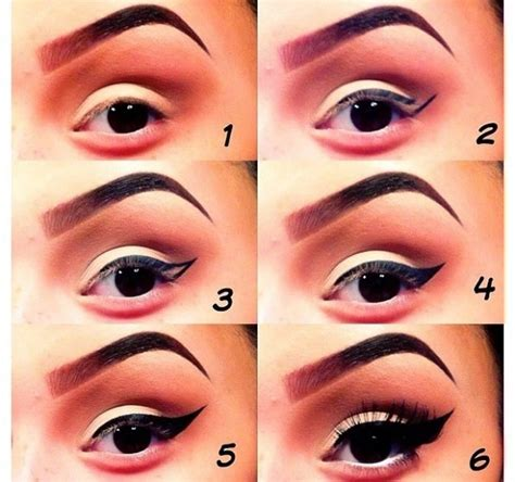 eyeliner tutorial step by step step by step eye makeup pics my collection