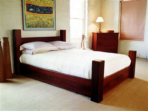post bed four poster jarrah bed fine furniture design fine art