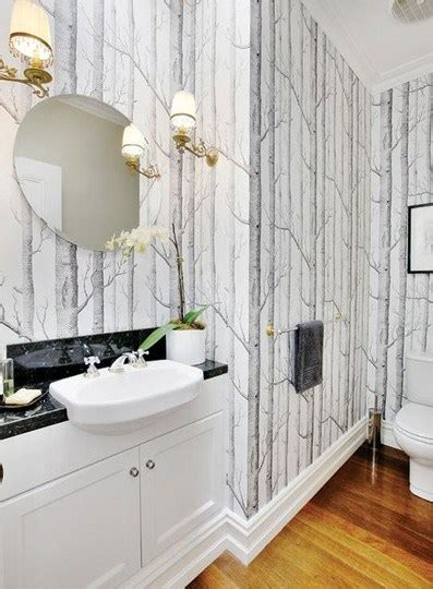 can i wallpaper a bathroom are these trends over exposed confettistyle