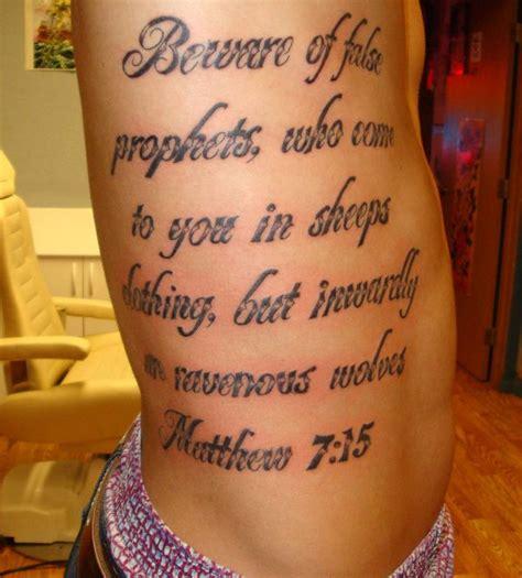 tattoo against bible verse tattoo bible verses rib tattoomagz