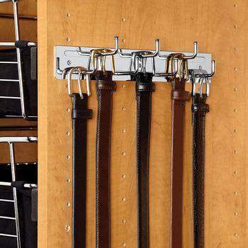Closet Belt Rack by Closet Accessories Rev A Shelf 12 Quot Wall Mounted Fixed Belt Rack Kitchensource