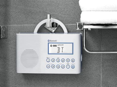 Shower Radio With Bluetooth by Sangean America Inc H 202 Shower Radio With Bluetooth