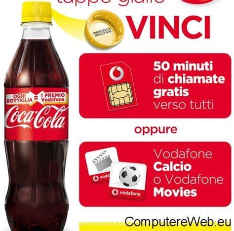 film gratis vodafone coca cola regala 50 minuti gratis al mese vodafone