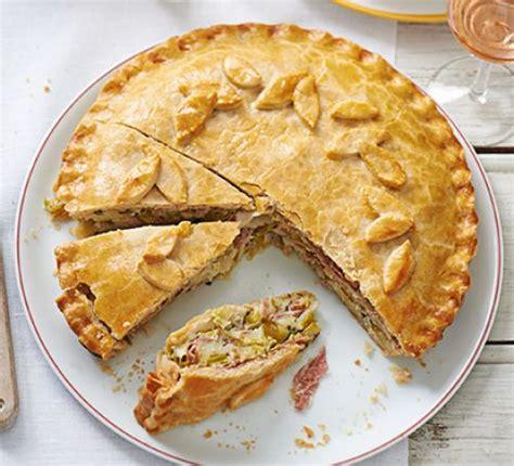 recipe kentish pork sage and apple pasty daily mail online creamy leek potato ham pie recipe bbc good food