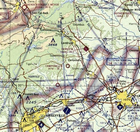 charlotte sectional chart abandoned little known airfields south carolina western