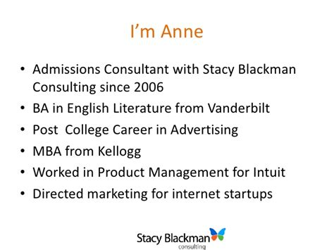 Mba Consulting Blackman by Breakdown Of Haas Mba Admissions Essays