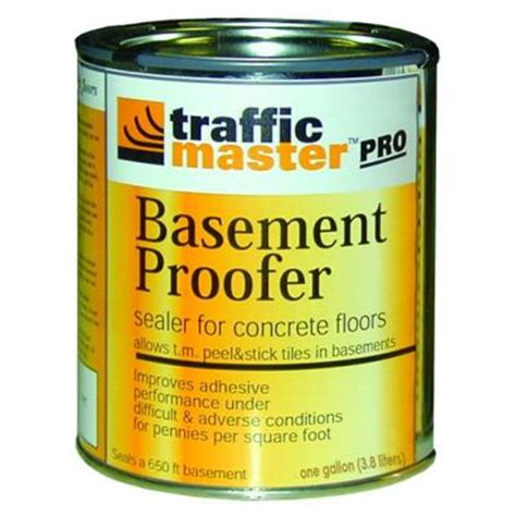 trafficmaster 1 gal basement proofer sealer for concrete