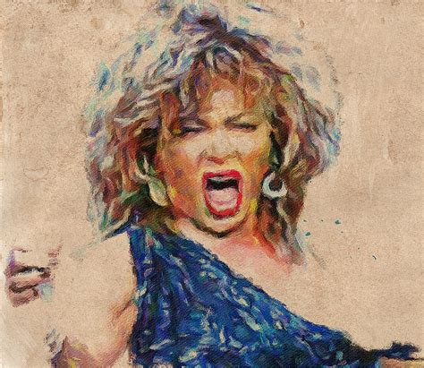 tina turner you are the best tina turner portrait you are the best 1 digital by