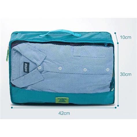 Tas Travel Organizer Bag In Bag 7 In 1 Tas Penyimpana Promo tas travel bag in bag organizer 7 in 1 lake blue