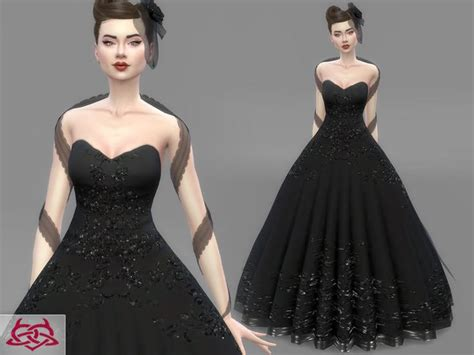 Cc Dress 670 best images about sims 4 cc fashion on
