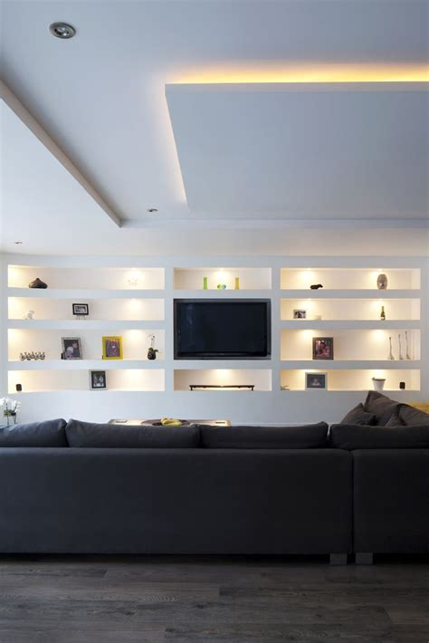 tv on wall in living room best 25 tv wall shelves ideas on floating tv