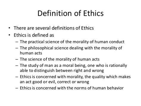 right meaning professional ethics with values education week 6