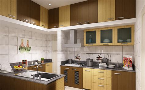 Modular Kitchen Countertops by Modular Kitchen Ideas With Brown Colors Wooden