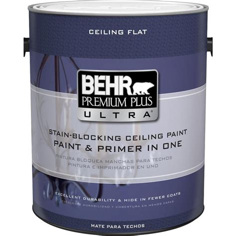 behr white behr premium plus ultra 1 gal ultra white ceiling