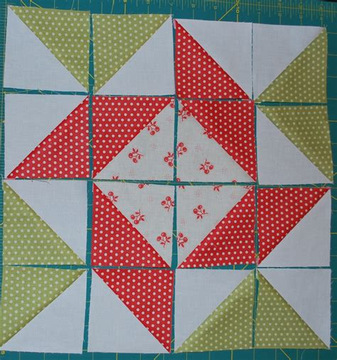 Two Block Quilt Patterns by And Quilters Apple Pie In The Sky Quilt Along