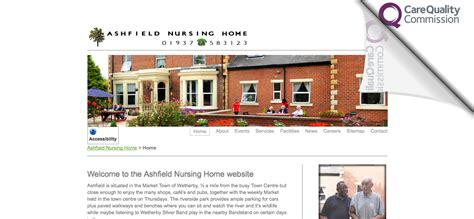nursing home web design marketing