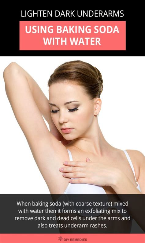 Detox Armpits With Lemon by How Baking Soda Used To Lighten Underarms