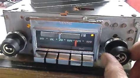 corvette radio delco radio corvette 72 76