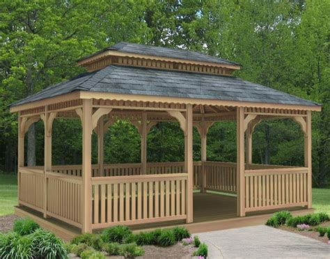 rectangular gazebo high quality rectangular gazebo plans 7 rectangular