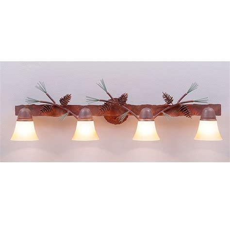 pine cone vanity lights lakeside vanity lights pine cone