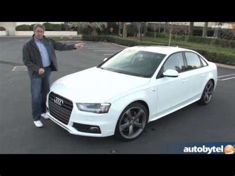Audi A4 2014 Test by 2014 Audi A4 Test Drive Video Review Youtube