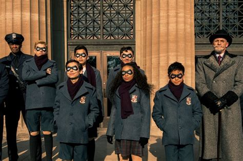 umbrella academy netflix release date plot cast