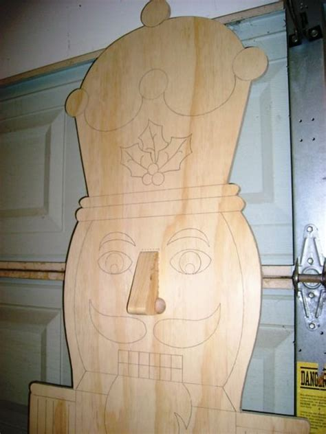 unpainted wood yard art cutouts ready  paint