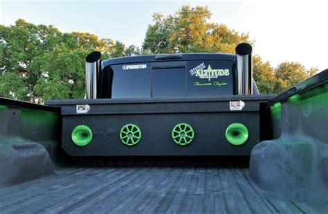 truck bed speakers 2008 ford f 350 with a 14 inch lift the beast