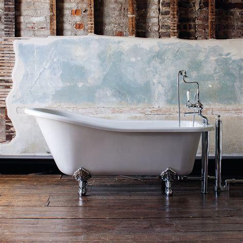 burlington bathroom reviews burlington harewood slipper 1700mm freestanding bath