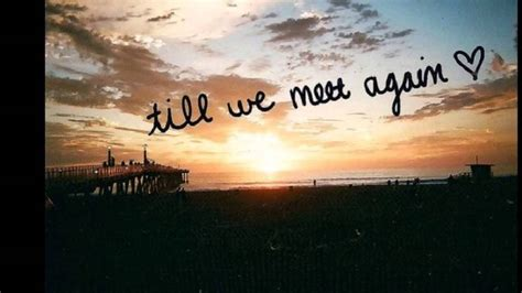 Letter Closing Until We Meet Again happy birthday in heaven