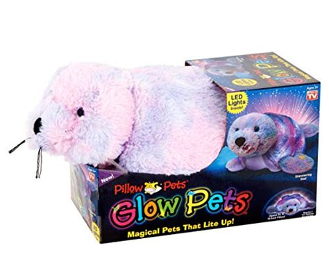 pillow pets seal glow pets pillow pets seal 16 quot opens to a 15 inch pillow
